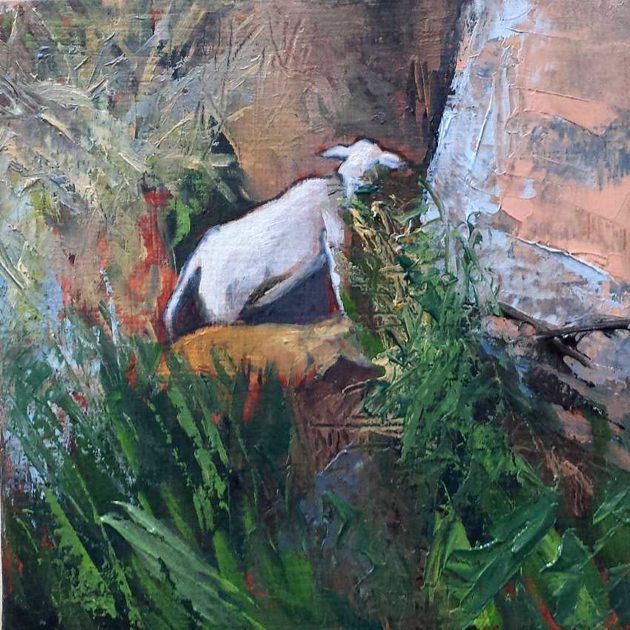 kroseth-road-to-guanes-goats-on-ledge