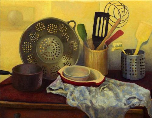 kroseth-still-life-kitchen-equipment-colander