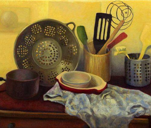 kroseth-still-life-kitchen-equipment-colander