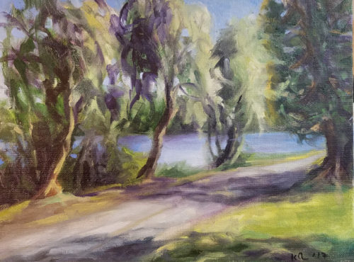 Greenlake Path near Evans Pool 9x12 7-6-17 650w