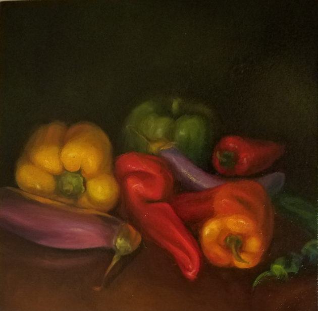 Peppers 12 x 12