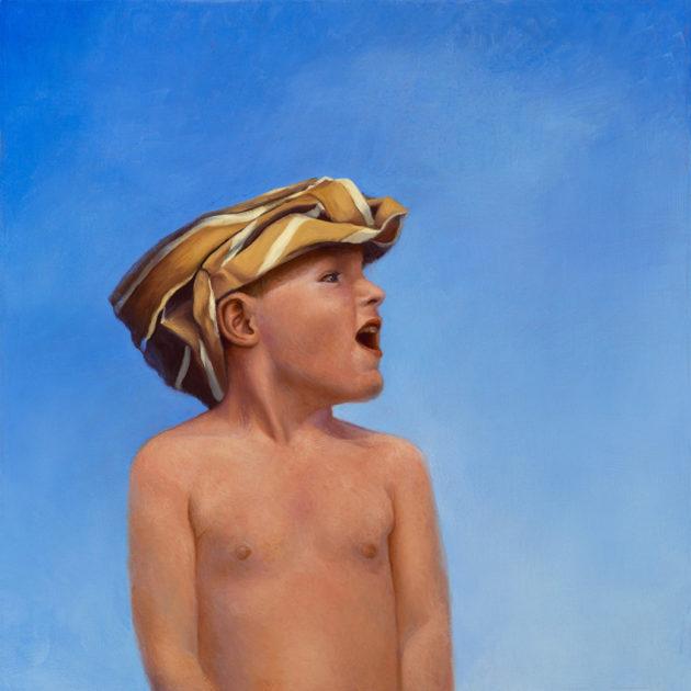 Boy with tee-shirt turban 850w 72 px